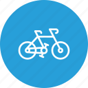 bicycle, cycle, cycling, ride, travel, vehicle icon