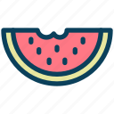 summer, watermelon, fruit, food