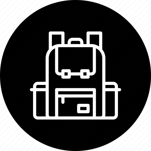 adventure, backpack, bag, beach, luggage icon