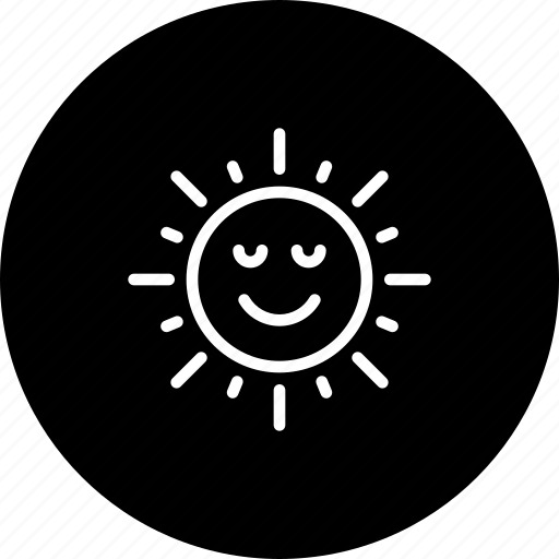 atmosphere, nature, shine, summer, sun, sunny icon