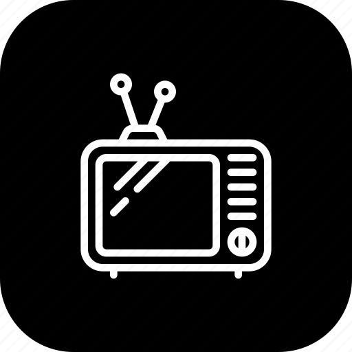 Antenna, old, television, tv, vintage icon - Download on Iconfinder