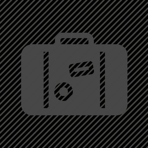 suitcase, summer, travel icon