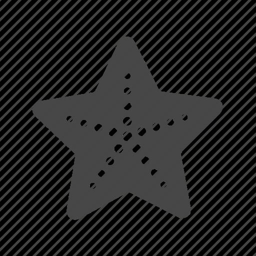 ocean, sea, star, starfish, summer icon