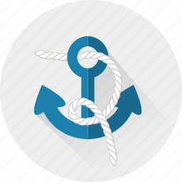 anchor, anchors, navy, sail, sailing, summer, tattoo icon