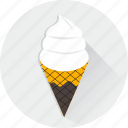 cone, cream, dessert, food, ice, summertime, sweet icon