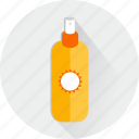 bathing, cosmetics, hygiene, hygienic, lotions, medical, summer icon