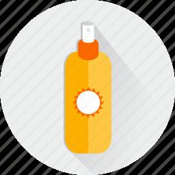 bathing, cosmetics, hygiene, hygienic, lotions, medical, summer icon