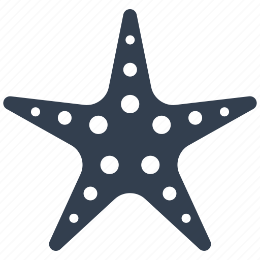 fish, marine, sea, star, starfish, summer, vacation icon