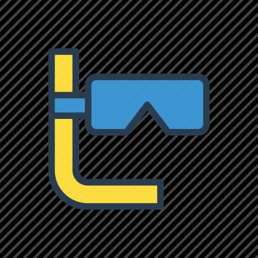 glasses, mask, scuba, sport, swim icon