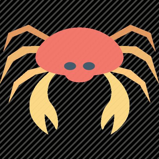 cancer, cancer zodiac, crab, food, seafood icon
