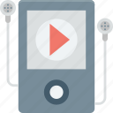 music player, mp4 player, ipod, ios device, walkman icon