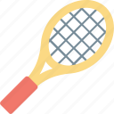 badminton, racket, sports, squash, tennis racket icon