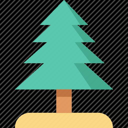 christmas tree, evergreen tree, fir tree, greenery, tree icon