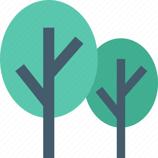 cypress trees, ecology, forest, garden, trees icon