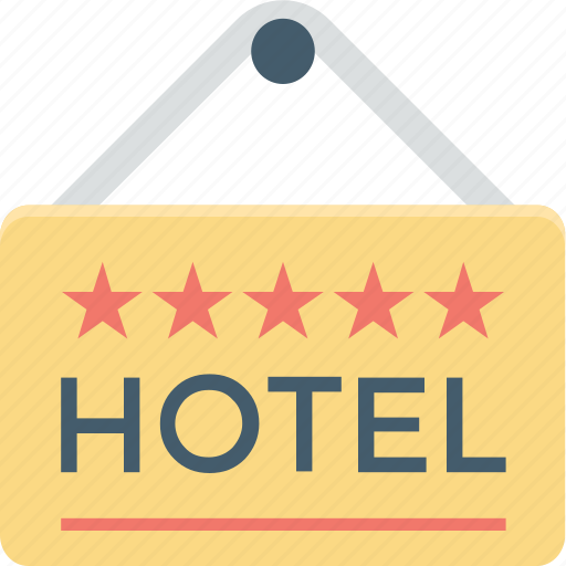 hanging sign, hotel, hotel signboard, signage, signboard icon