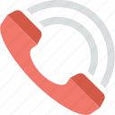 call service, calling, customer service, phone, receiver icon