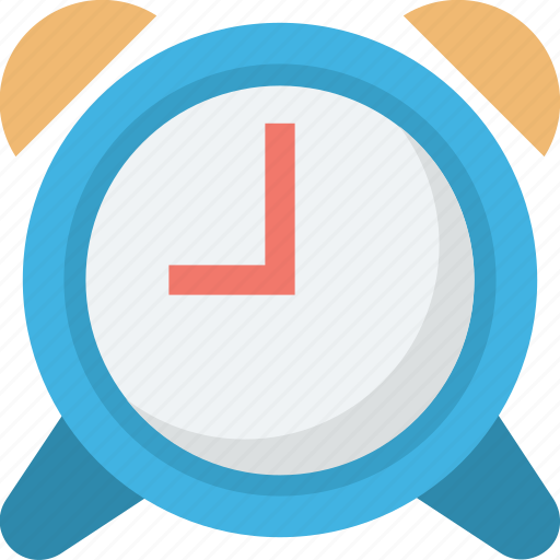 alarm clock, clock, retro clock, time, timer icon