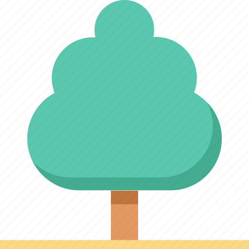 garden, greenery, nature, shrub tree, tree icon
