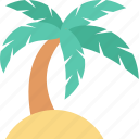 beach, coconut tree, date tree, palm, palm tree