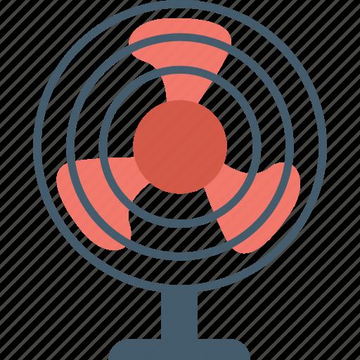 electric fan, fan, pedestal fan, table fan, ventilator icon