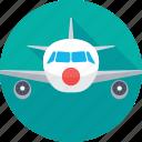 aeroplane, air travel, aircraft, airplane, plane