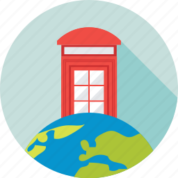 booth, call, phone booth, telephone, telephone kiosk icon