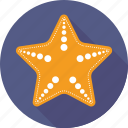 animal, fish, sea star, seafood, starfish icon