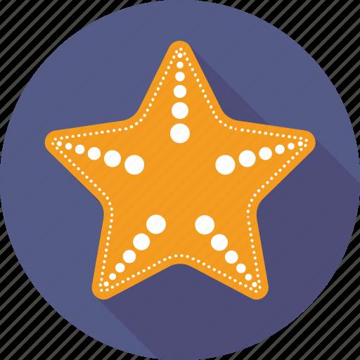animal, fish, sea star, seafood, starfish icon