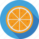 citrus, food, fruit, lime, orange icon