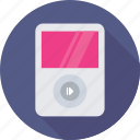 ios, ipod, music, mp4 player, walkman icon