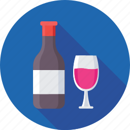 alcohol, champagne, drink, wine, wine glass icon