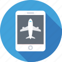 airline, booking, e ticket, mobile, reservation