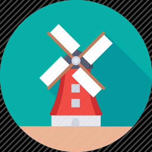 aerogenerator, energy, farm, turbine, windmill icon