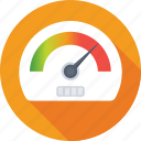dashboard, fuel meter, gauge, speed, speedometer icon