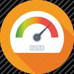 dashboard, fuel meter, gauge, speed, speedometer icon