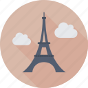 eiffel tower, france, landmark, monument, paris icon