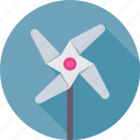 fun, pinwheel, toy, whirligig, windmill icon