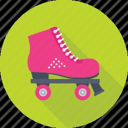 skate boots, skates, skating, sports, winter icon