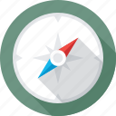 cardinal points, compass, direction tool, gps, navigational icon