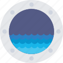 beach, boat, sea, ship, water icon