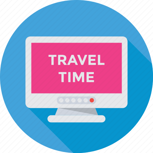 television, tourism, travel, travel time, tv icon