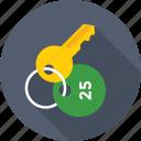 access, hotel, key, keychain, security