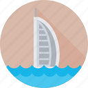 burj al arab, dubai, monument, travel, uae icon