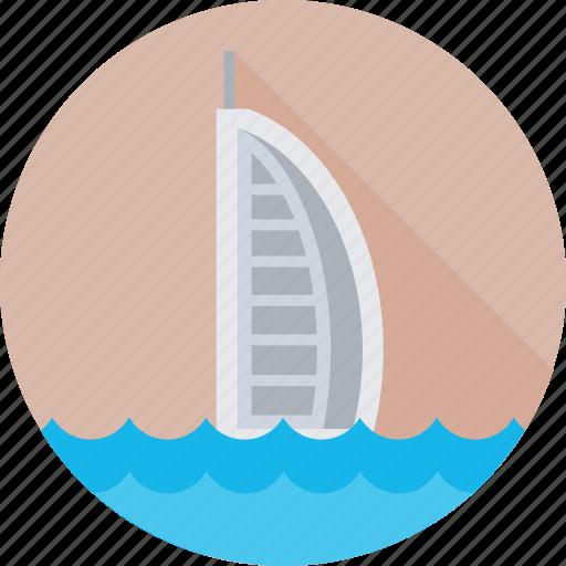 burj al arab, dubai, monument, travel, uae icon