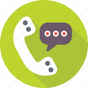 helpline, hotline, receiver, services, twenty four icon
