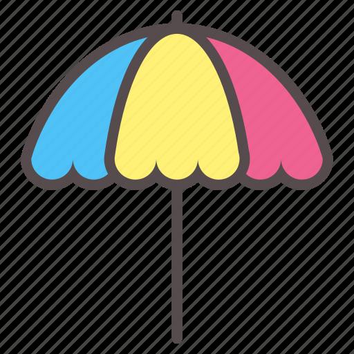 beach, parasol, relax, shade, summer, umbrella, vacation icon