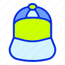 cap, fashion, hat, holiday, summer icon