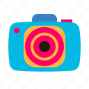 camera, holiday, photo, photography, summer, vacation icon