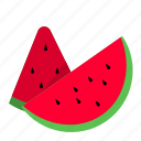 beach, fruit, healthy, summer, travel, vacation, watermelon icon