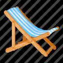 lounger, umbrella, beach, chair, sitting, summer, seat